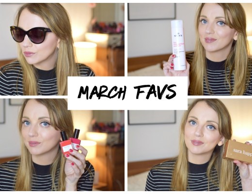 March Favourites YouTube