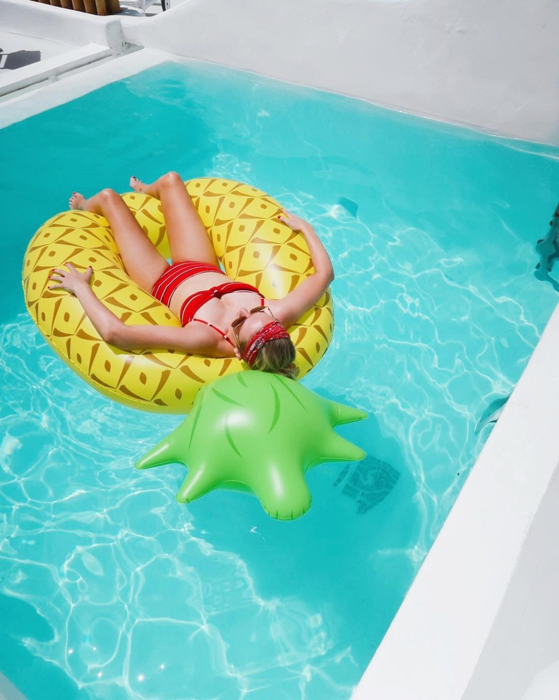 Pool Float Pineapple - The LDN Diaries - UK Travel Blogger