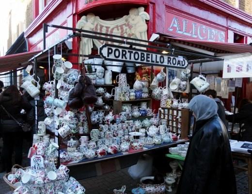 Portobello Road Market - Best Markets In London - The LDN Diaries