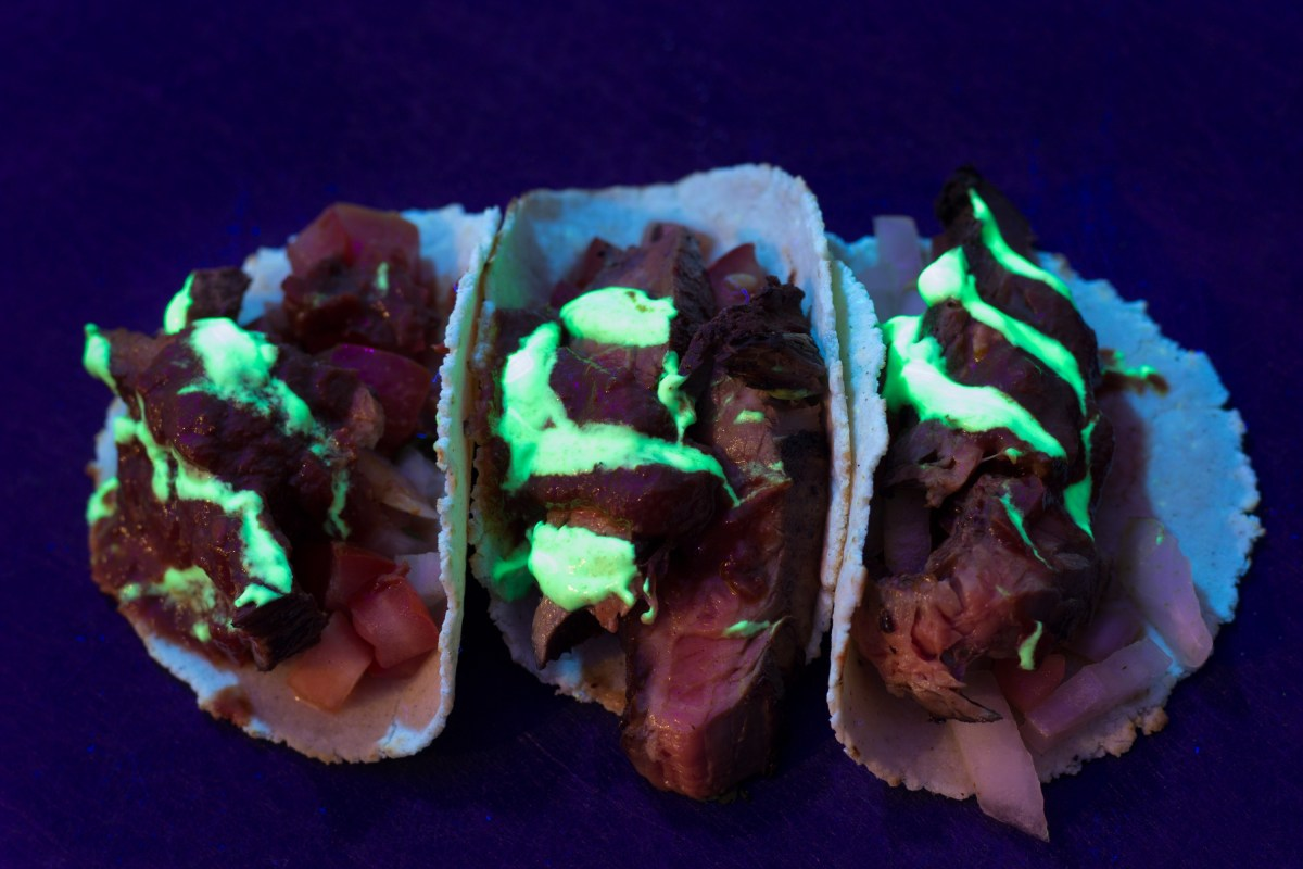 Glow in the dark tacos halloween events london