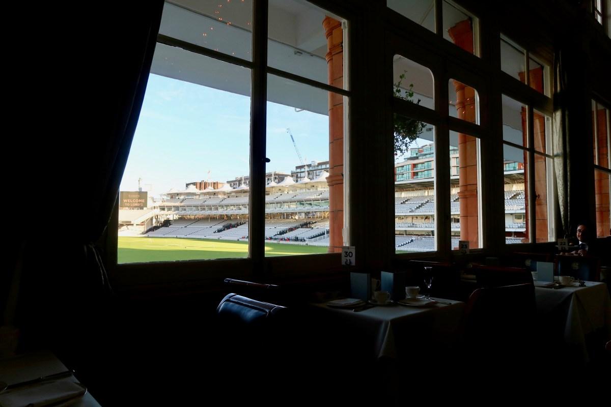 Lord's Cricket Club Afternoon Tea