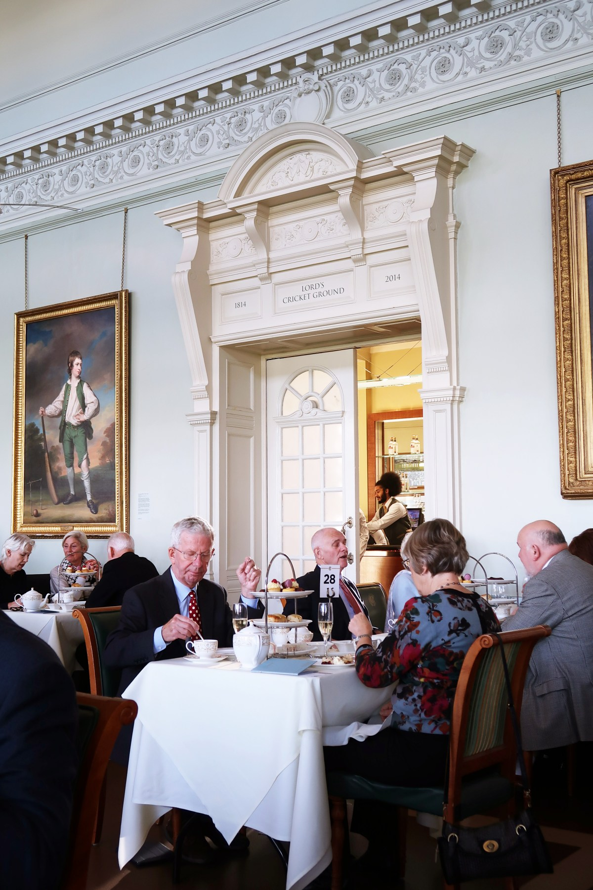 Lord's Cricket Club Afternoon Tea