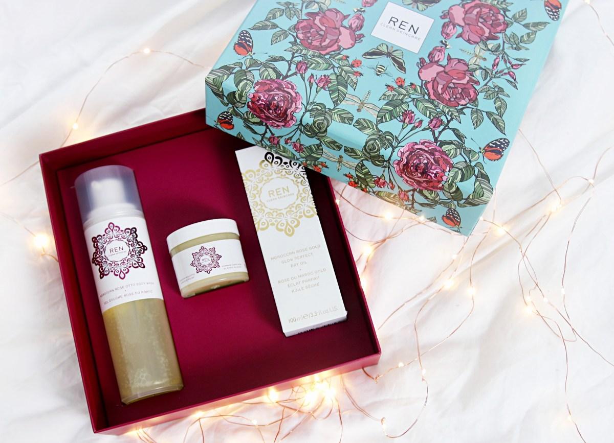 REN Rose Gift Set - Christmas Gift ideas For Her - UK Lifestyle Blog