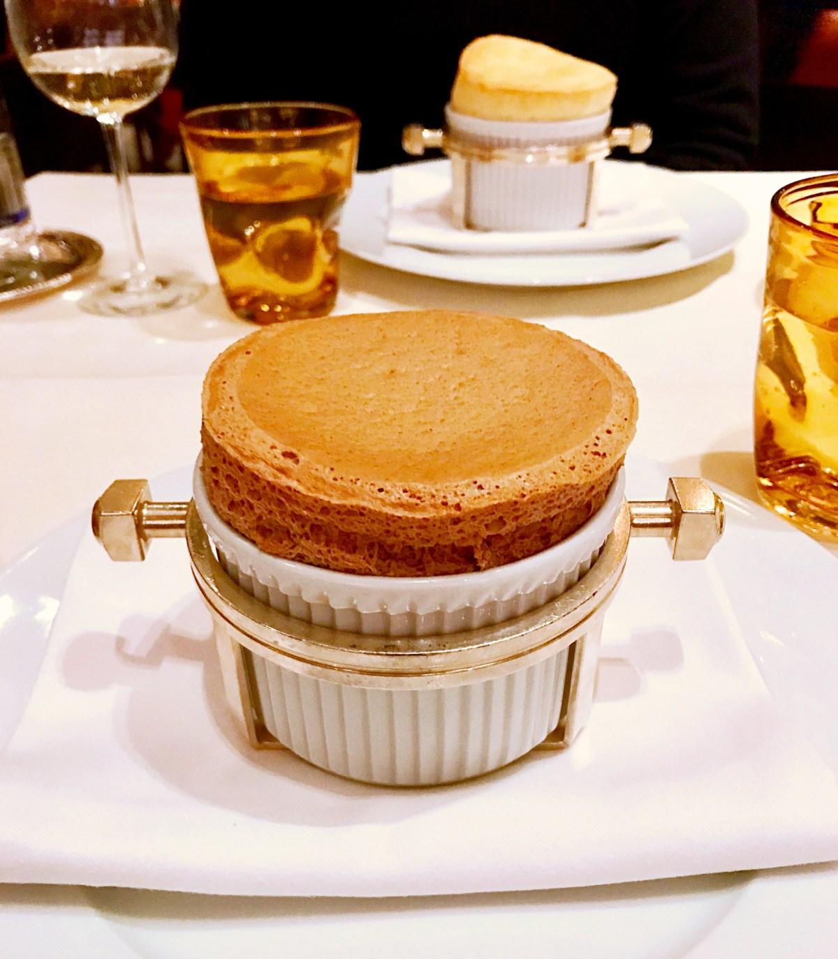 Chocolate Soufflé at The Dorchester - Best Desserts In London - The LDN Diaries