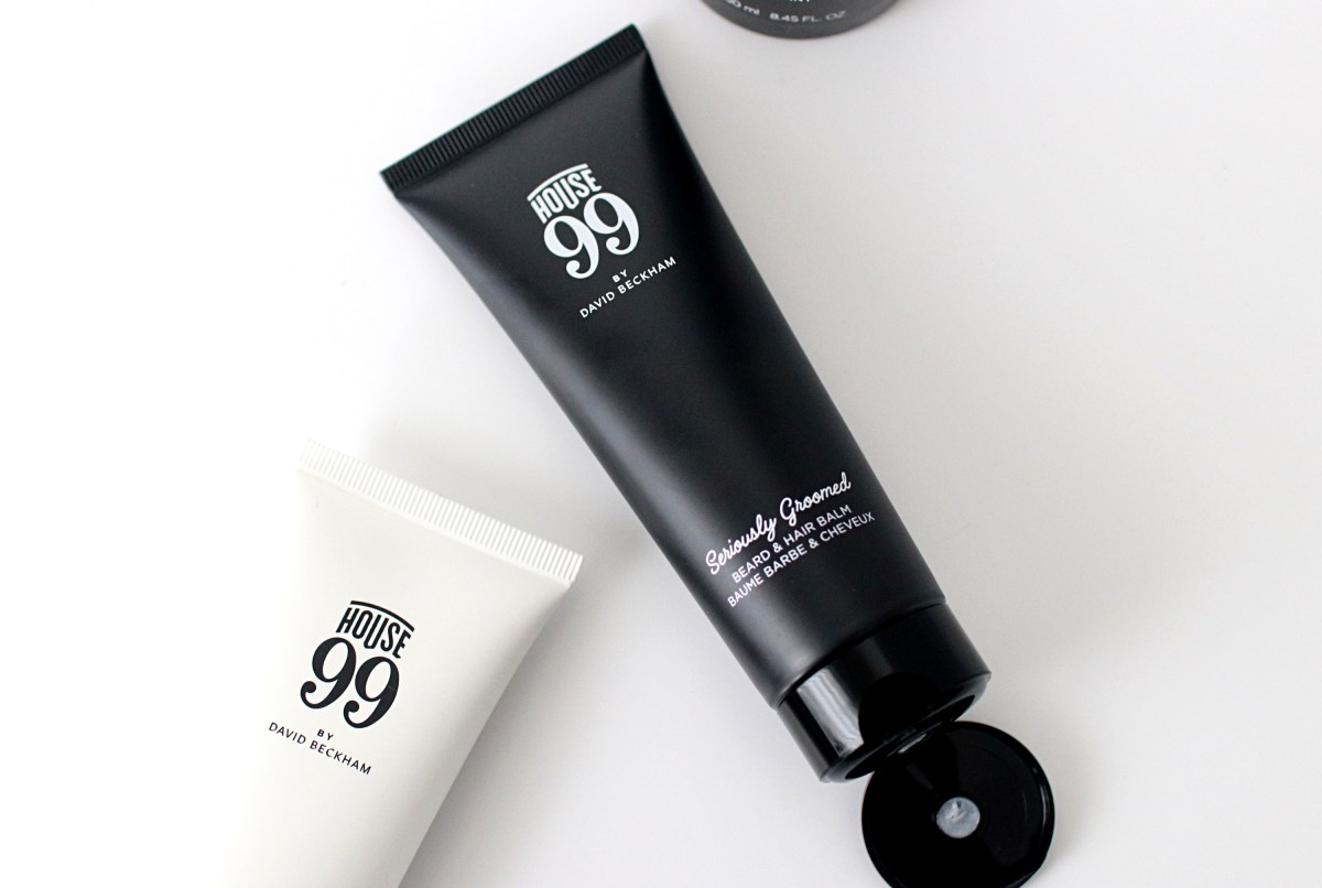 House 99 David Beckham Beard Balm Review - The LDN Diaries