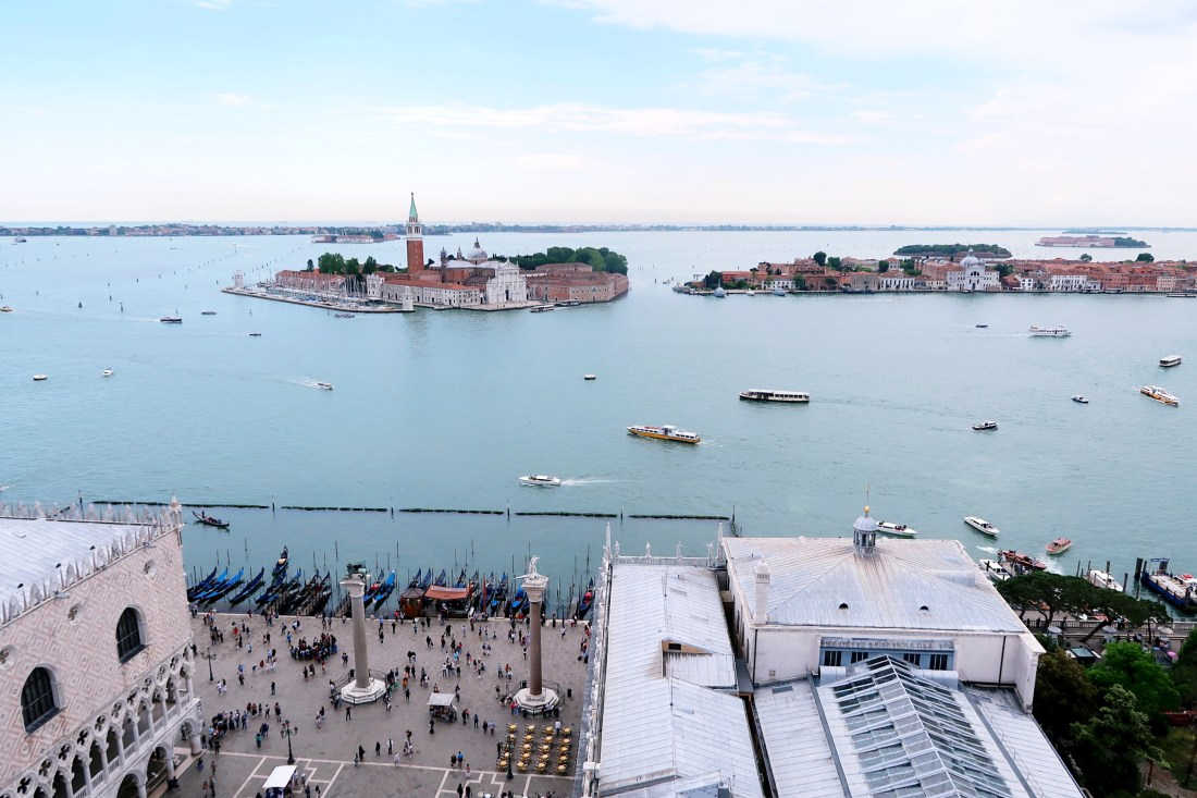 View from Bell Tower Piazza San Marco