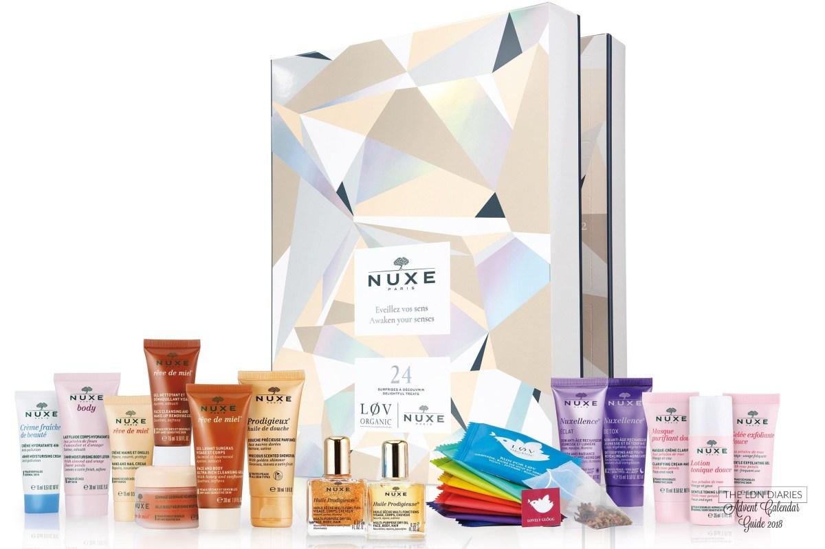 Nuxe Beauty Advent Calendar 2018 - The LDN Diaries