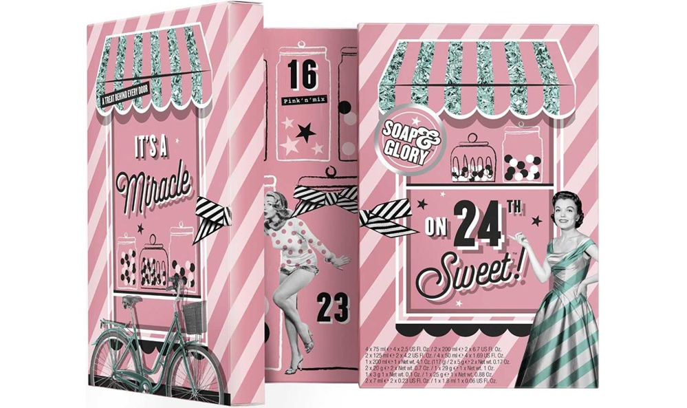 Soap and Glory beauty advent calendar 2019 - The LDN Diaries