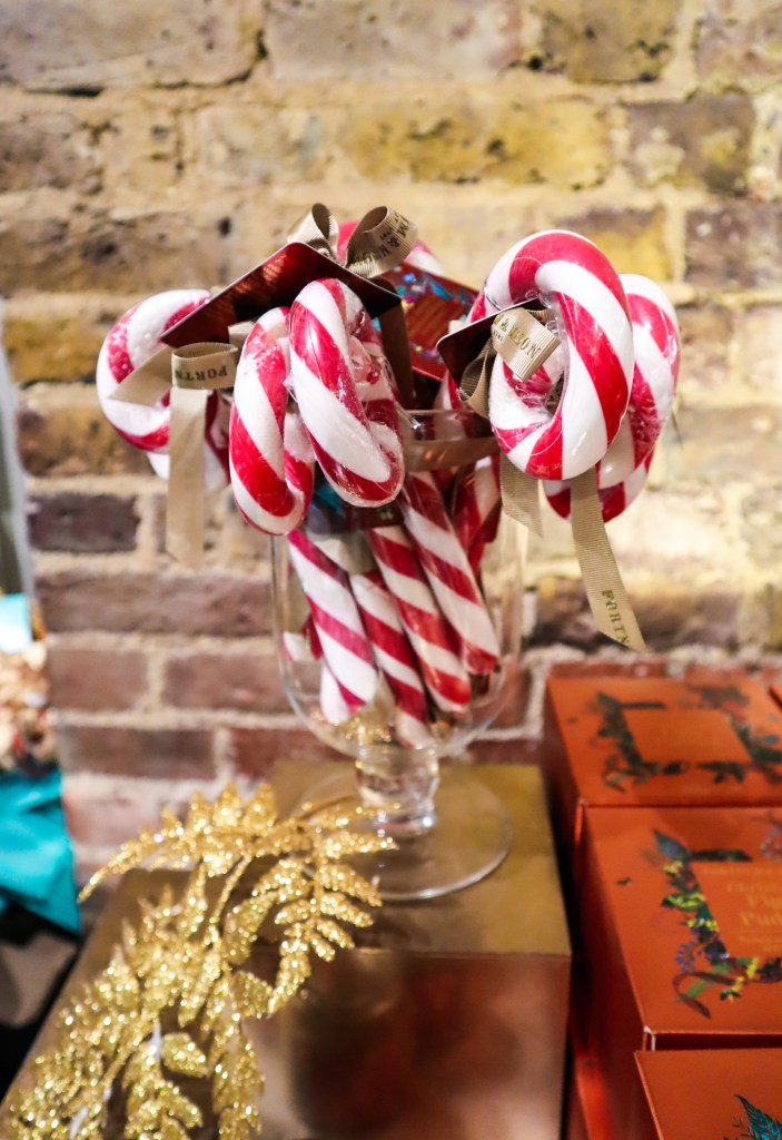 Candy Canes Fortnum & Mason - The LDN Diaries