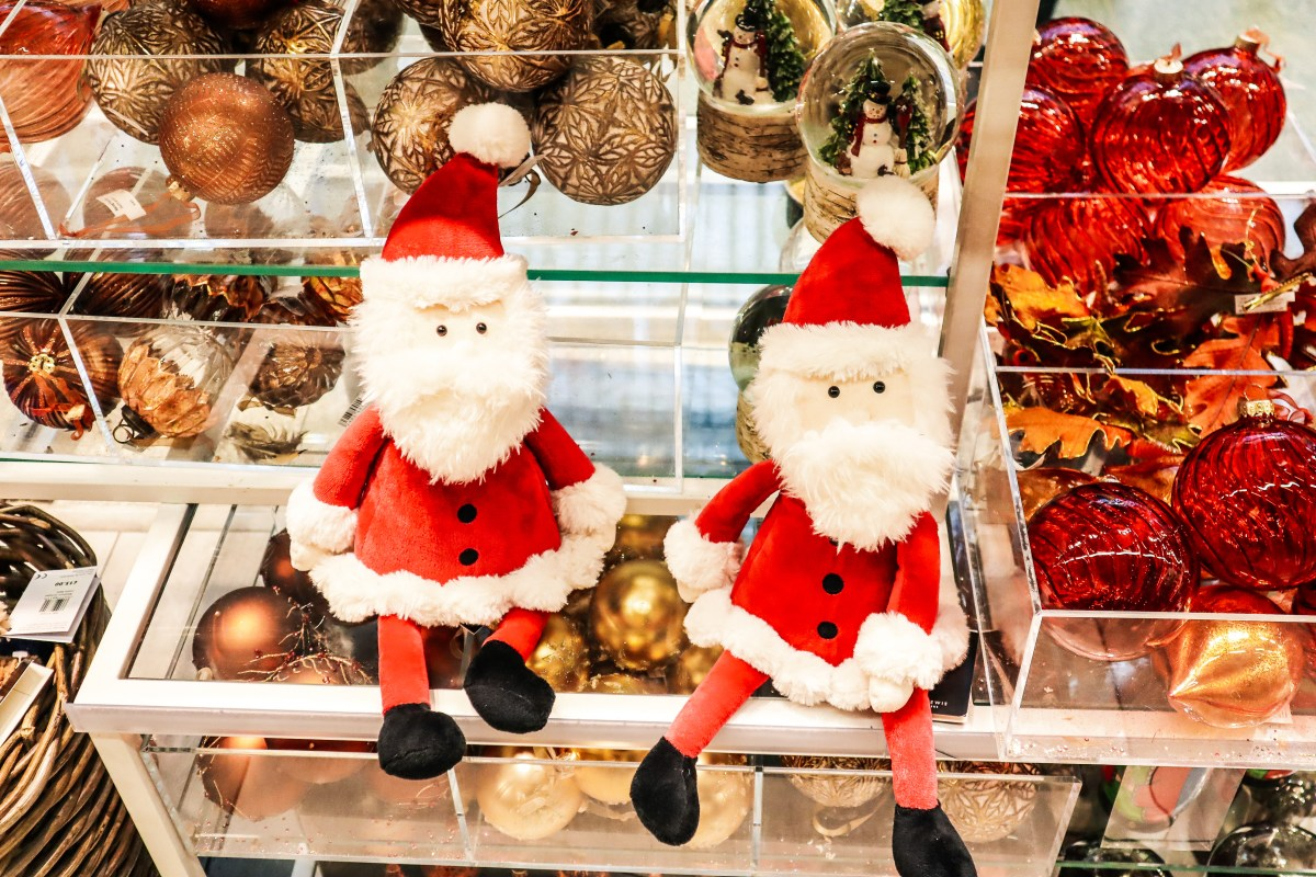 Santa Toy John Lewis St Pancras Shopping - The LDN Diaries