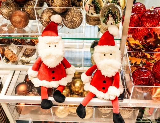 Santa Toy John Lewis St Pancras Shopping - The LDN Diaries