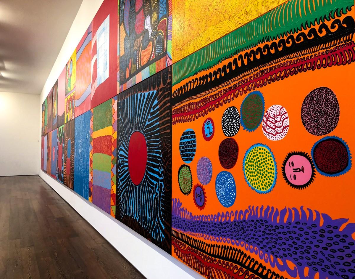 Yayoi Kusama Exhibition London - The LDN Diaries London Lifestyle Blog