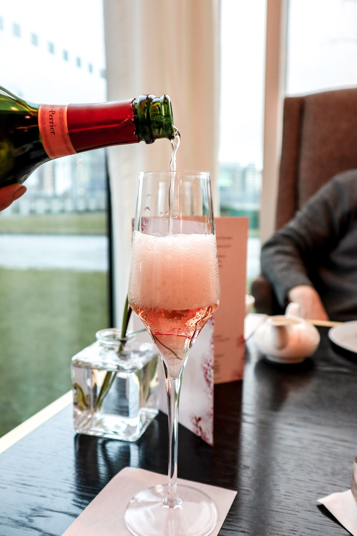 Laurent Perrier Afternoon Tea Sophie Faldo InterContinental O2 - The LDN Diaries