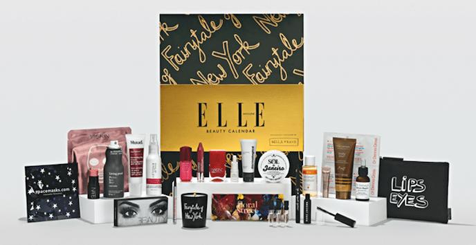 ELLE magazine advent calendar 2019