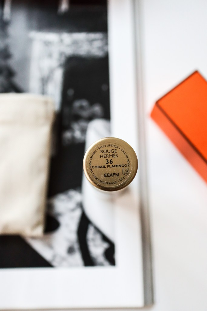 Hermes Rouge Lipstick Corail Flamingo 36 Review | The LDN Diaries