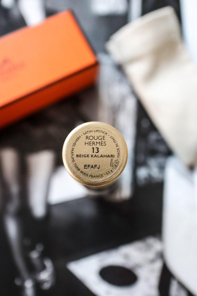 Hermes Rouge Beige Kalahari 13 Lipstick Review | The LDN Diaries