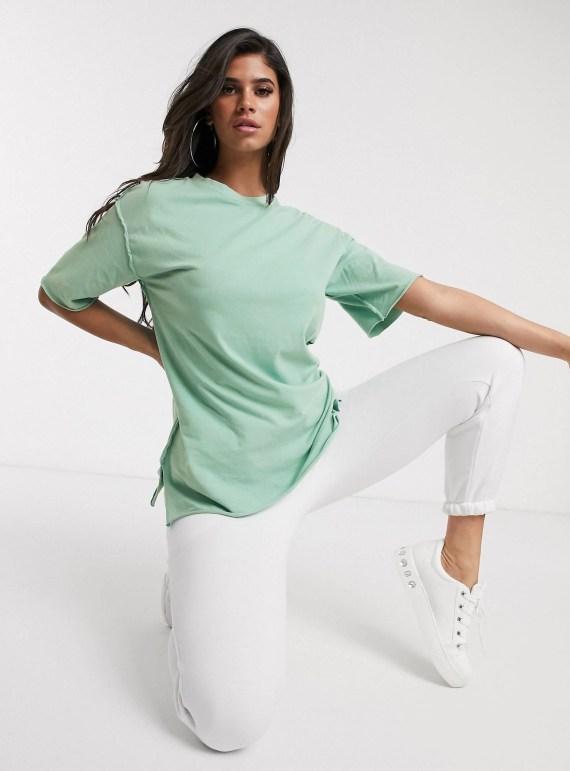 ASOS Super Oversized T-Shirt in Sage