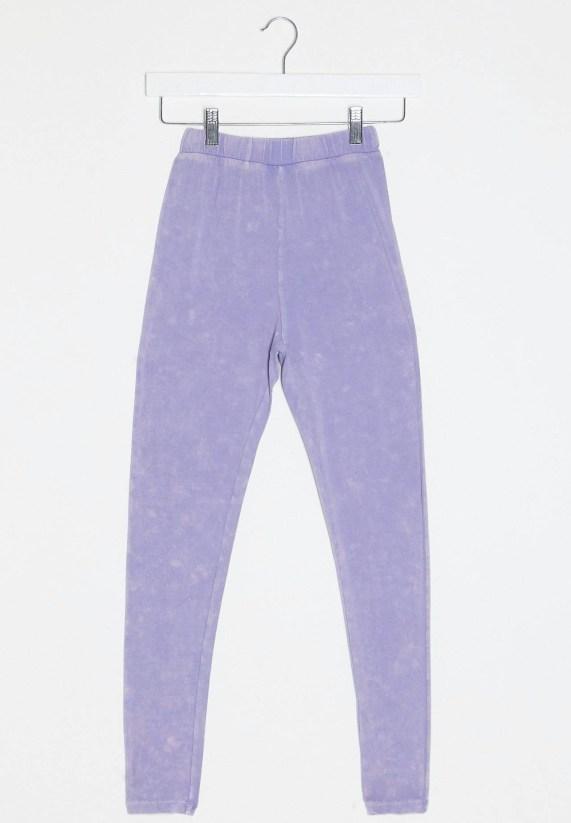 ASOS Acid Wash Lilac Leggings