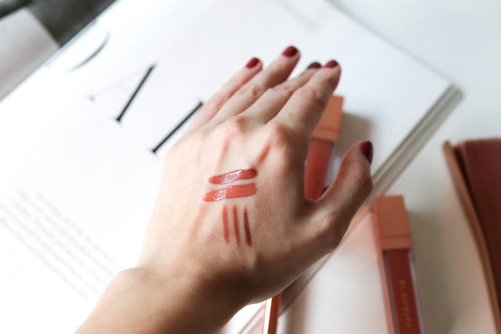 Patrick Ta lip creme and crayon swatches | The LDN Diaries