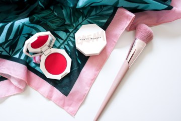 Fenty Beauty Cheeks Out Cream Blush Crush on Cupid | The LDN Diaries