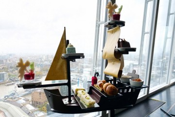 Peter Pan Afternoon Tea at Aqua Shard