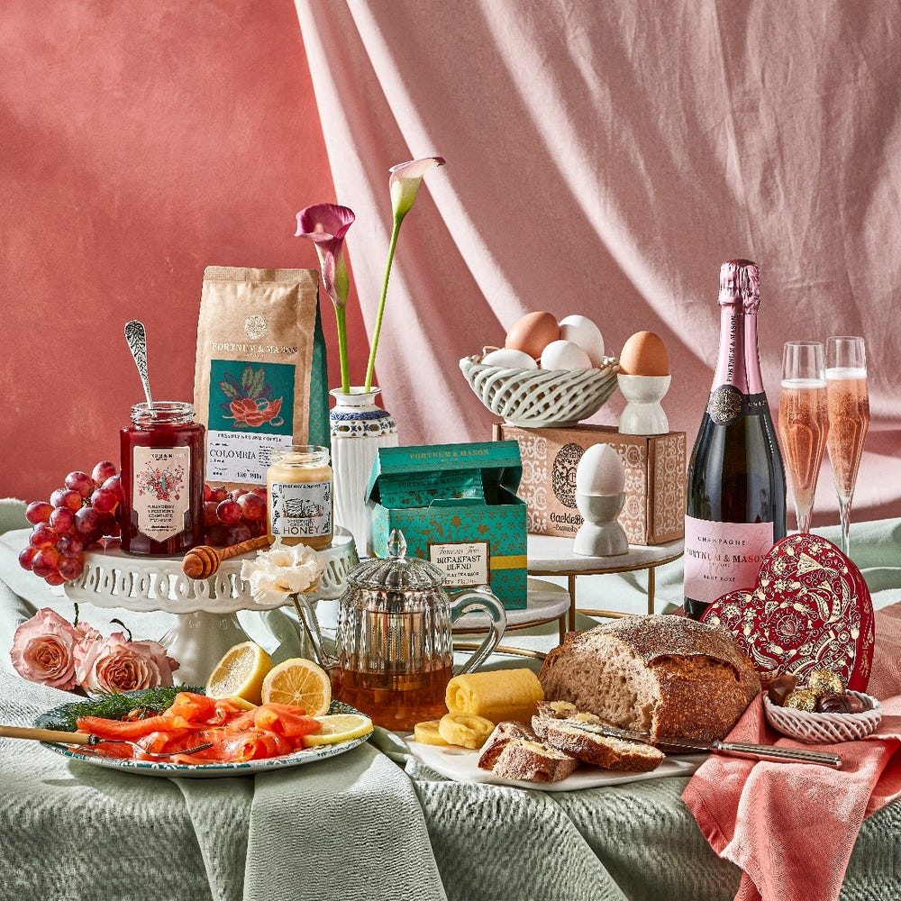 Fortnums Champagne Breakfast