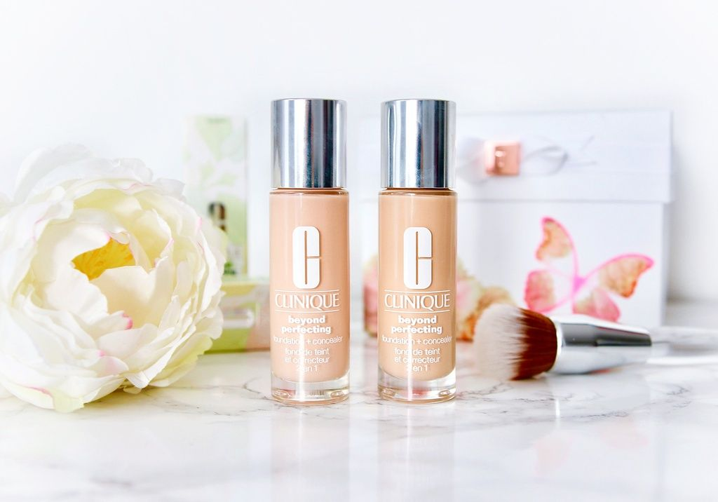 Clinique Beyond Perfecting Foundation 0.5 and 1 Linen