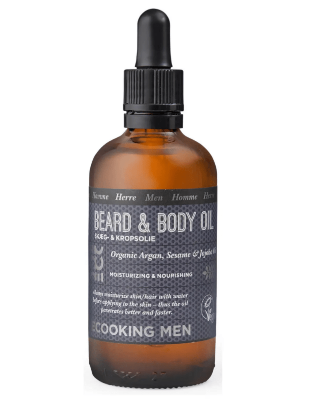 Ecooking beard and body oil