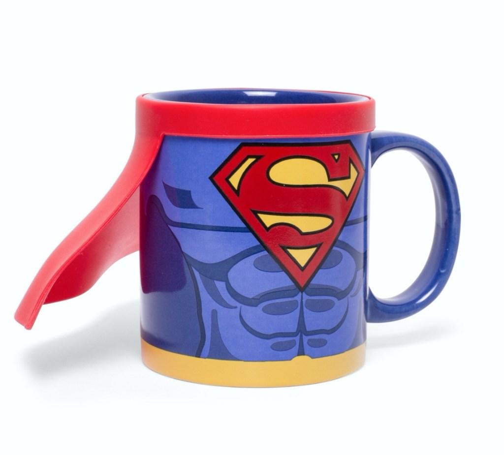 Superman Cape Mug Fun