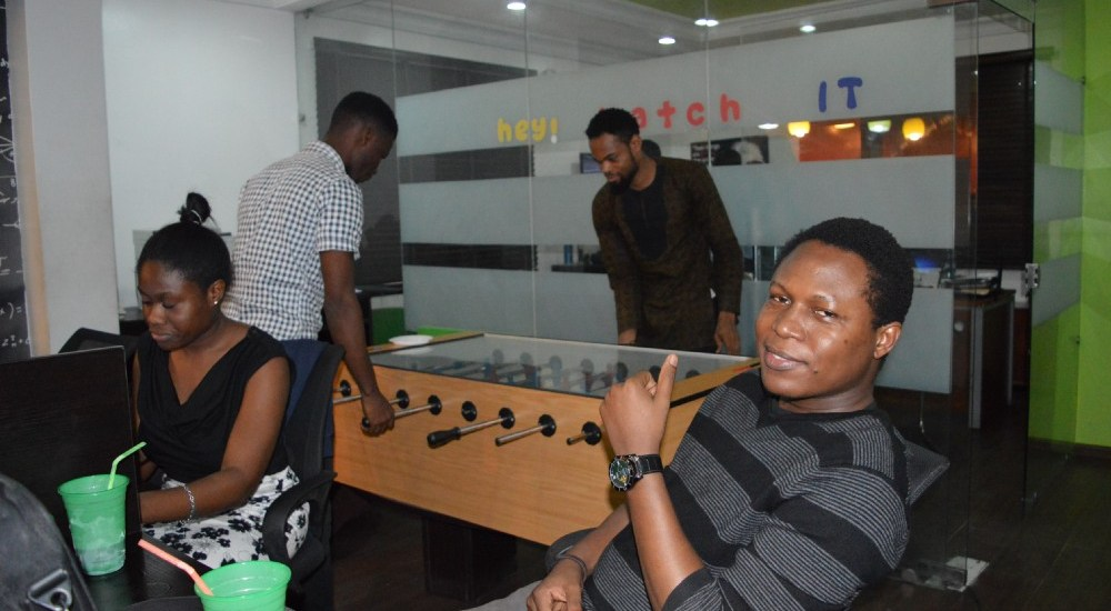 Coworkers at Leadspace Yaba