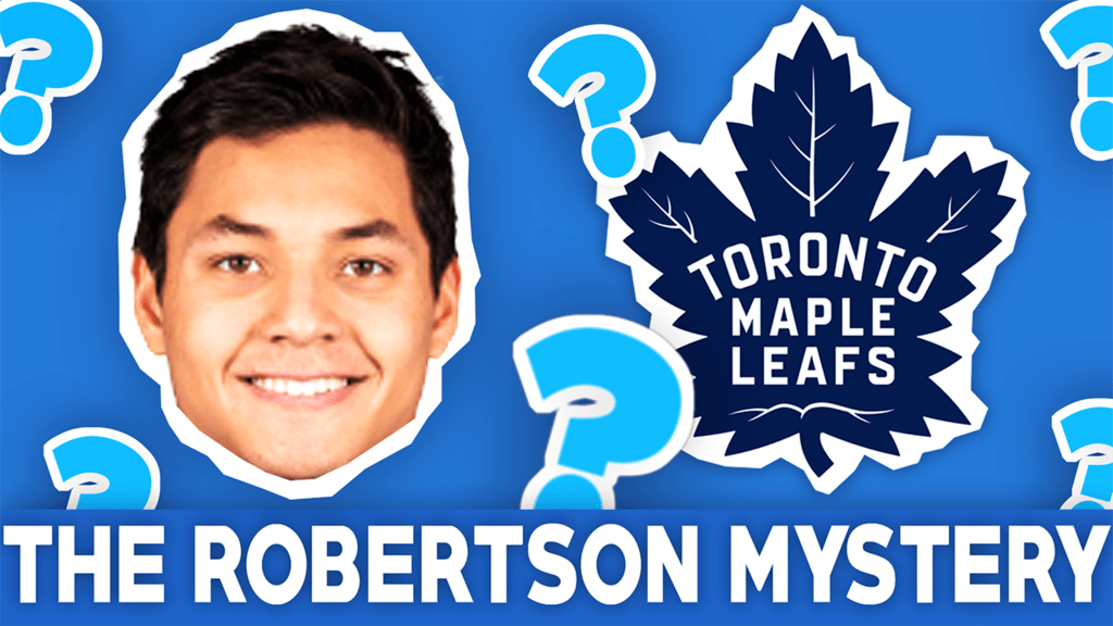 Will Nick Robertson play with the Toronto Maple Leafs next season?