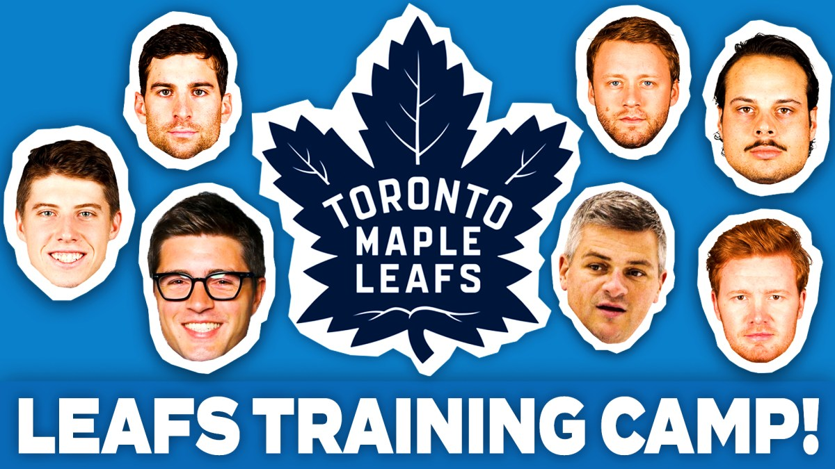 Everything you need to know from the start of Leafs training camp