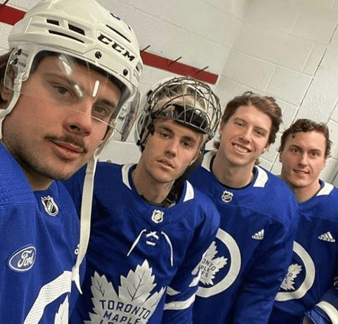 Justin Bieber releases a musical ode to the Maple Leafs