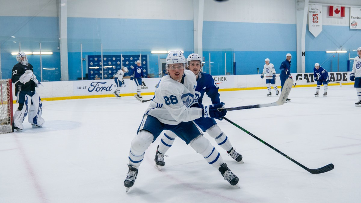 News and Notes: Matthews skates, some new lines, and a timeline for the Leafs cuts