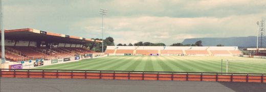 Sligo Rovers ground at the Showgrounds
