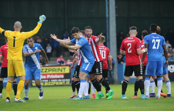 Finn Harps v Derry City match action