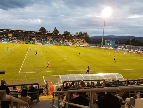 Shamrock Rovers Stadium in Tallaght
