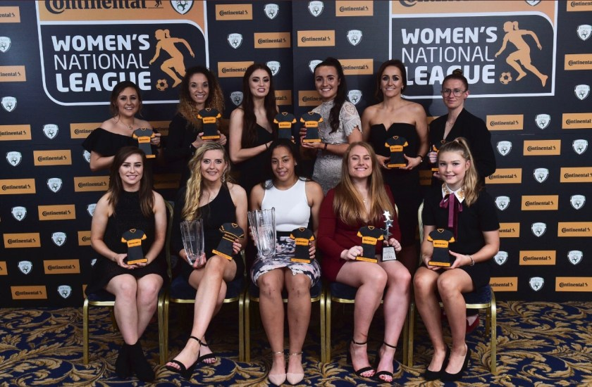 Women's National League awards