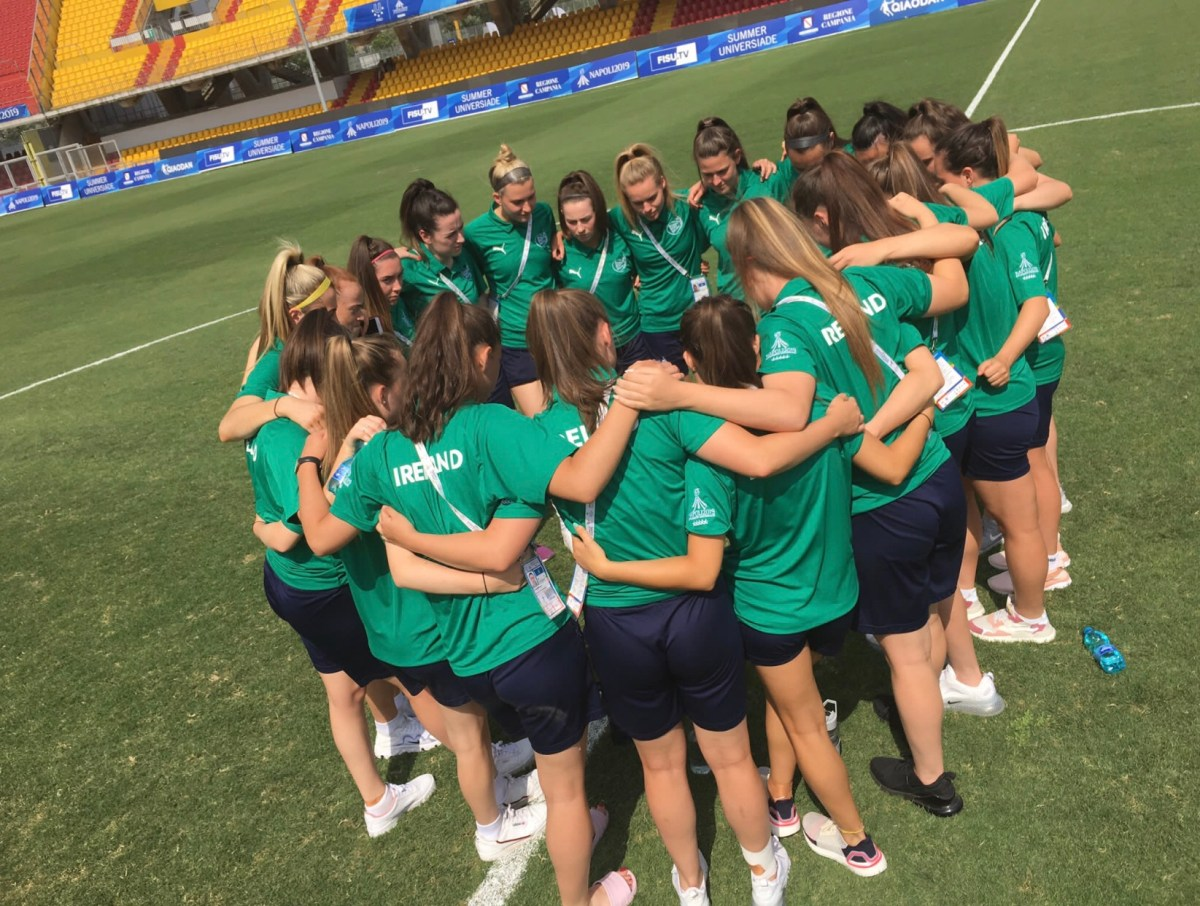 Ireland Universities captain Chloe Mustaki talks about their amazing run to the semi-finals of the World University Games
