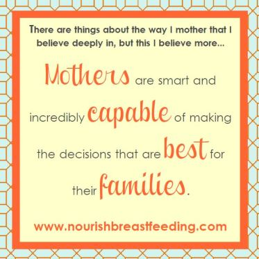 Mothers are capable breastfeeding nourish breastfeeding support