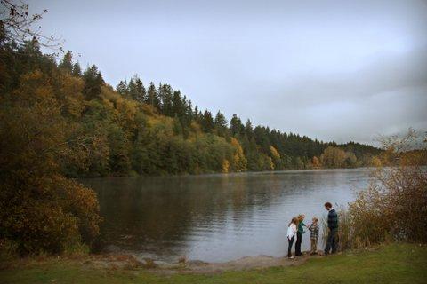 Munson Family Lake Padden