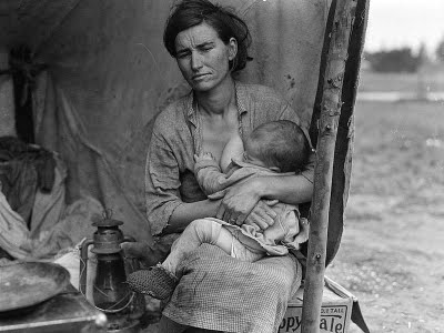 Photo credit Dorothea Lange, 1936 Library of Congress, American Memory