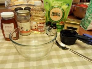 Honey, Organic Coconut Oil, Sunflower Seed Oil, Organic Sugar, Vitamin E, Earl Grey Tea Flavoring, Lemon Essential Oil, loose Earl Grey tea leaves