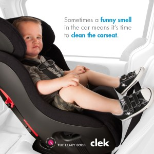 smelly car seat