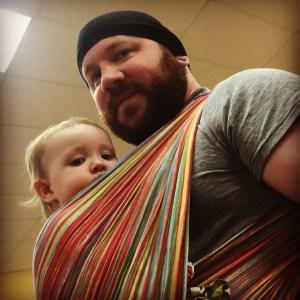 babywearing woven wrap review