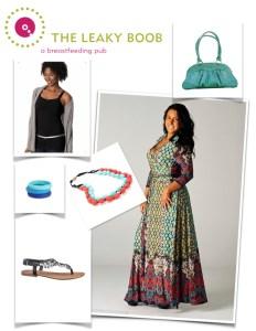 Breastfeeding friendly fashions