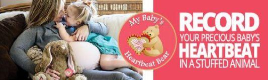 my-babys-heartbeat-bear-banner