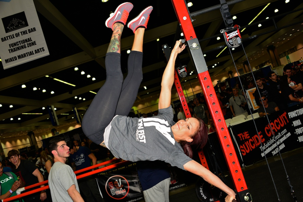 Pull Up Bars And Calisthenics Exercise