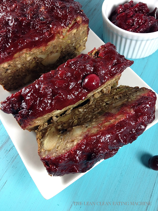Vegan Meatloaf With Spiced Cranberry Sauce The Lean