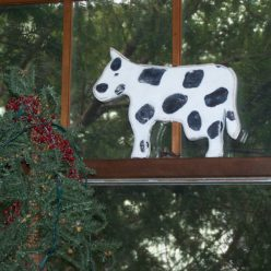 The Leaning Cow